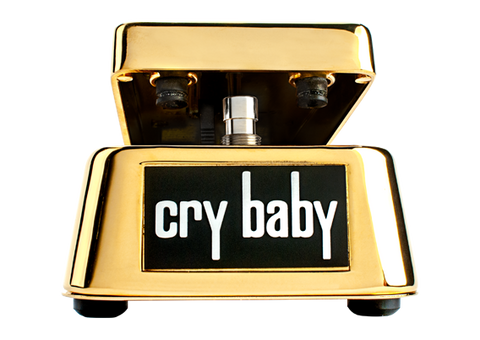 Dunlop 50th Anniversary Cry Baby Wah Gold