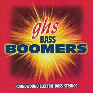 GHS Bass Boomers Round Wound 5-String Bass Strings 40-120