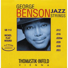 Thomastik GB112 George Benson Custom Flatwound Set Medium Light 12-53