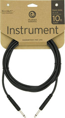 Planet Waves Classic Series 10' Instrument Cable  Straight 1/4 Inch