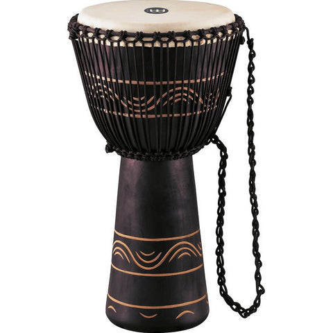 Meinl African Style Rope Tuned Djembe with Bag - Extra Large 13 Inch