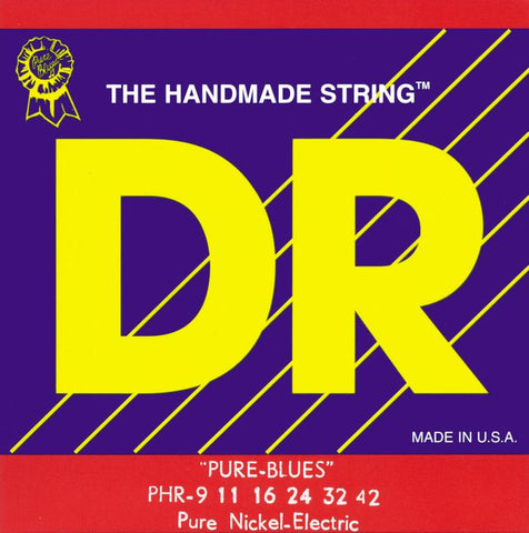 DR Strings PHR-9 Pure Blues Electric Lite 9-42