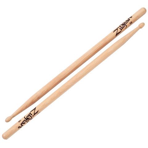 Zildjian 5B Wood Tip Natural Drumsticks