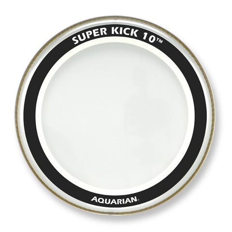 Aquarian 22 Inch Super Kick 10 Clear Bass Drum Head