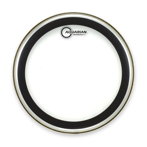 Aquarian 16 Inch Performance II Clear Drum Head