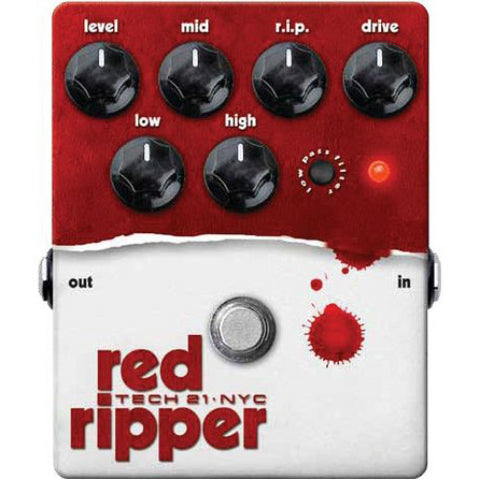 Tech 21 Red Ripper Bass Fuzz & Distortion