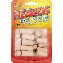 Hearos Bulk Pack Ear Plugs 20-Pairs