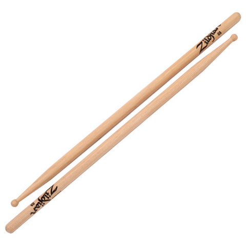 Zildjian 6A Wood Tip Natural Drumsticks