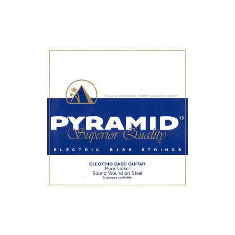 Pyramid Medium Round Wound Nickel Bass Strings 40-100