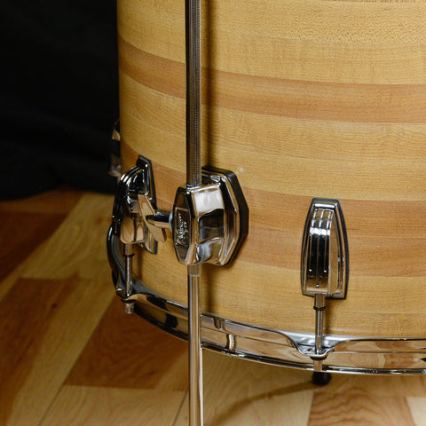 Ludwig Classic Maple 13/16/22 3pc Drum Kit Butcher Block