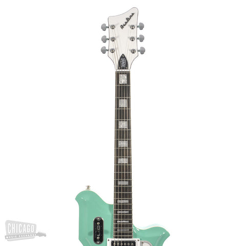 Airline Map Seafoam Green w/Bigsby