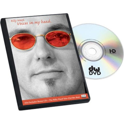 Billy Ward: Voices in My Head DVD