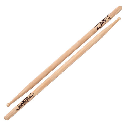 Zildjian 7A Wood Tip Natural Drumsticks
