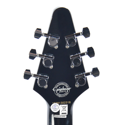 Epiphone PRO-1 Explorer Electric Guitar Pack Ebony w/MityPRO Mini-Amplifier