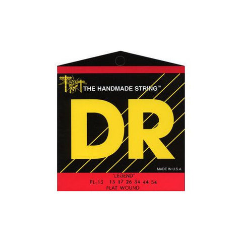DR Strings FL-13 Legend Flatwound Electric Medium 13-54