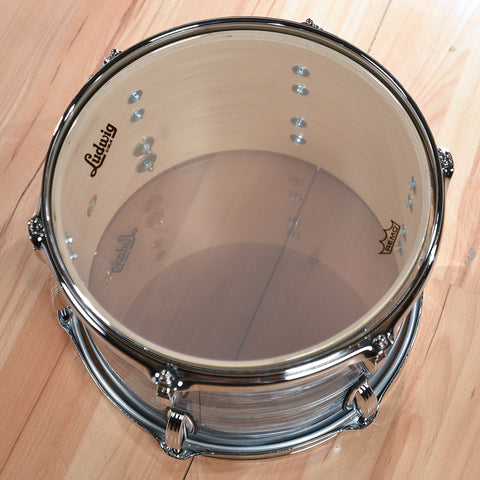 Ludwig 12/14/20 Classic Maple Kit Vintage Blue Oyster