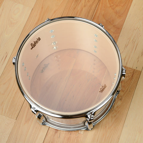Ludwig 13/16/22 Classic Maple 3pc Kit White Marine Pearl w/ Free 6.5x14 Snare Drum