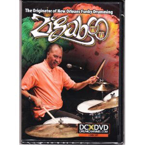 Zigaboo Modeliste:  The Originator of New Orleans Funky Drumming DVD