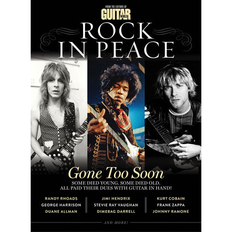 Guitar World Presents Rock In Peace: A Tribute to Fallen Guitar Heroes Paperback