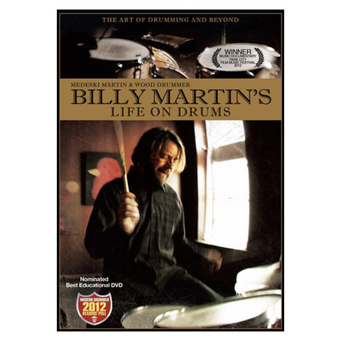 Billy Martin's Life on Drums DVD