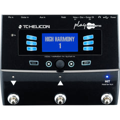 TC Helicon Play Acoustic 3 Button Voice Processor