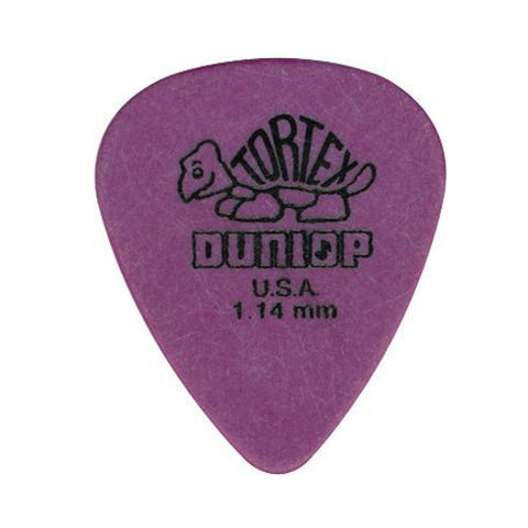 Dunlop Tortex Std Guitar Picks 1.14mm (12)