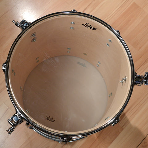 Ludwig 13/16/24 Classic Maple 3pc Kit Sky Blue Pearl