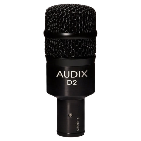 Audix D2 Low Profile Dynamic Instrument Microphone