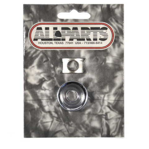 Allparts Cup Jackplate for Tele - Chrome