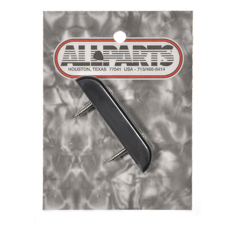 Allparts Bass Thumbrest - Black Plastic