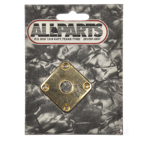 Allparts Jackplate for Gibson¬ Les Paul¬ - Gold
