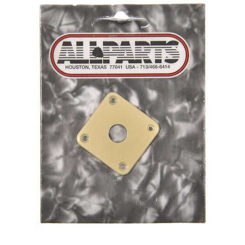 Allparts Jackplate for Gibson¬ Les Paul¬ - Cream
