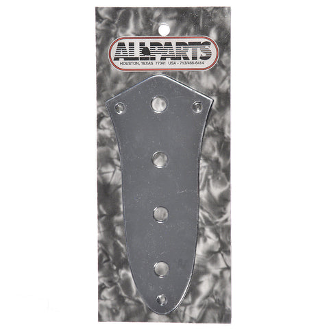 Allparts Control Plate for J Bass - Chrome