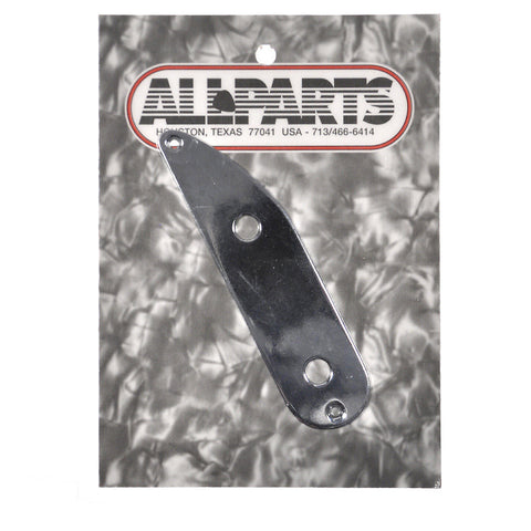 Allparts Tele Bass Control Plate - Chrome