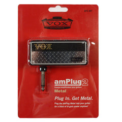 Vox amPlug G2 Metal Headphone Amplifier w/Mid-Cut