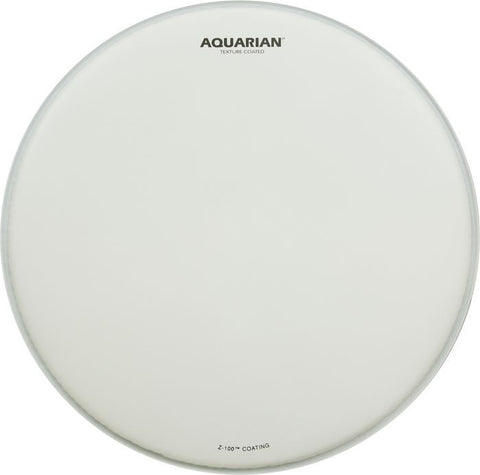 Aquarian 18 Inch White Texture Coated Batter Drum Head