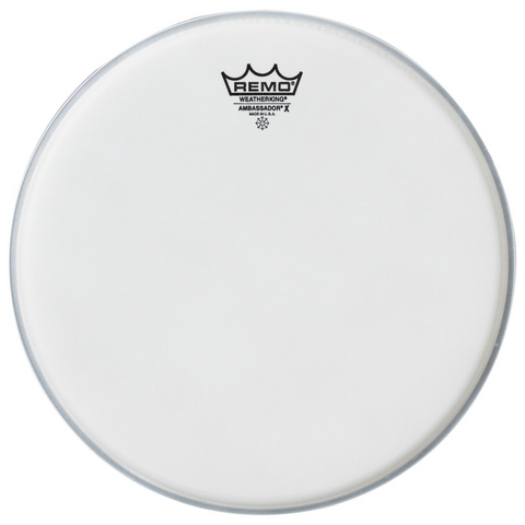 Remo 10 Inch Ambassador X Coated Drum Head