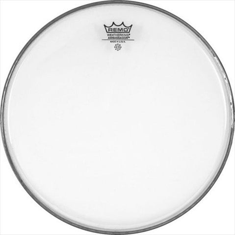 Remo 12 Inch Batter Ambassador Clear Drum Head