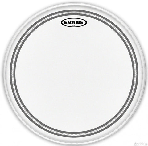 Evans 15 Inch EC2 Coated SST Drum Head