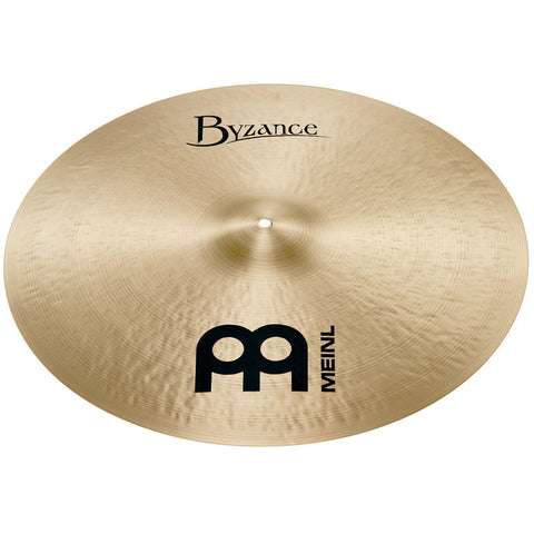 Meinl 21 Inch Byzance Traditional Heavy Ride Cymbal