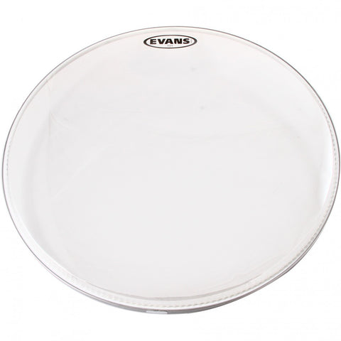 Evans 22 Inch EQ3 Coated White Bass No Port Drum Head