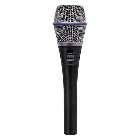 Shure Beta 87A Supercardioid Condenser Handheld Vocal Microphone