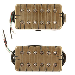 Bare Knuckle Aftermath Humbucker Pickup Set 50mm 4-Conductor Short Leg Tyger
