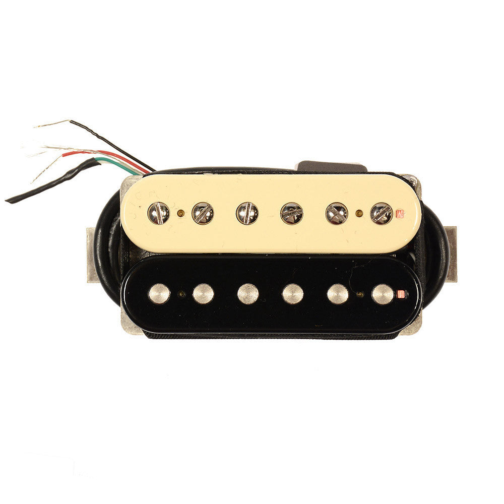 bare knuckle black dog humbucker bridge pickup 50mm 4 conductor short leg zebra chicago music. Black Bedroom Furniture Sets. Home Design Ideas