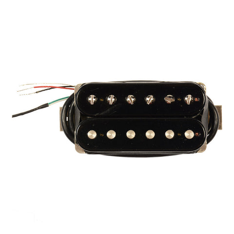 Bare Knuckle The Mule Humbucker Bridge Pickup 50mm 4-Conductor Short Leg Unpotted Black