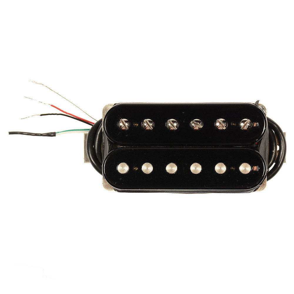 bare knuckle the mule humbucker neck pickup 50mm 4 conductor short leg unpotted black chicago. Black Bedroom Furniture Sets. Home Design Ideas