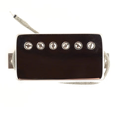 Bare Knuckle Stormy Monday Humbucker Bridge Pickup 50mm 2-Conductor Long Leg Potted Nickel