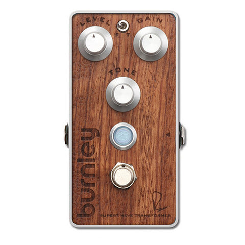 Bogner Burnley Distortion Pedal Bubinga