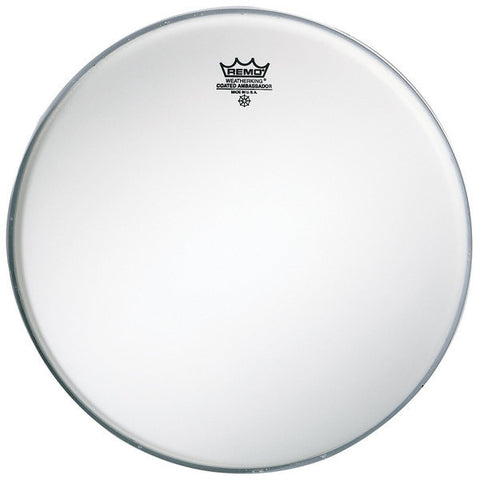 Remo 14 Inch Batter Ambassador Coated Drum Head