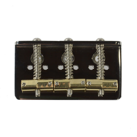 Callaham American Standard Hardtail Bridge w/3 Enhanced Compensated Brass Saddles